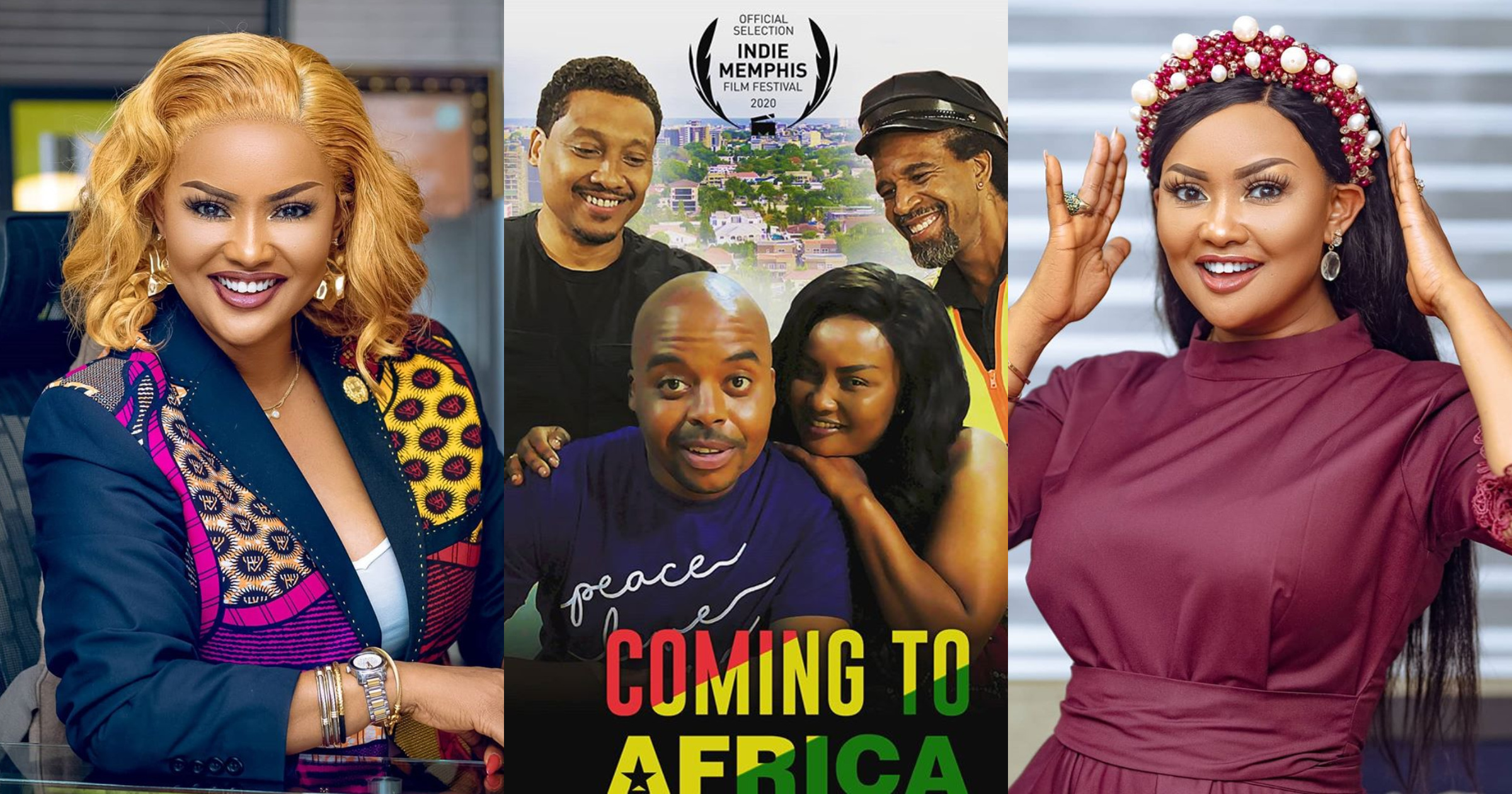 """Nana Ama McBrown Features In American Movie """"Coming To Africa""""; (Watch Trailer Video)"""